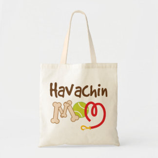 Havachin Dog Breed Mom Gift Tote Bag