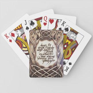Havamal 77 Playing Cards