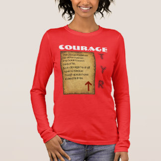 Havamal Courage Long Sleeve T-Shirt