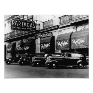 Havana 1951 Retro Cigar Factory Photographic Print