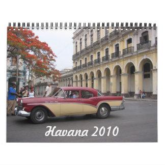 havana 2010 calendar