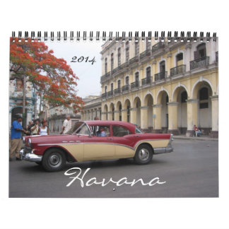 havana 2014 wall calendar