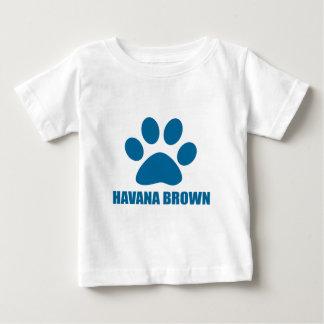 HAVANA BROWN CAT DESIGNS BABY T-Shirt