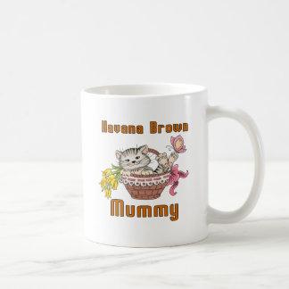Havana Brown Cat Mom Coffee Mug