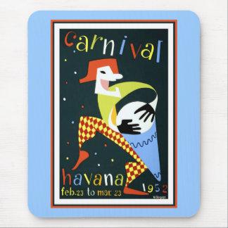 Havana Carnival 1952 Mouse Pad