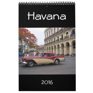 havana cuba 2016 calendars