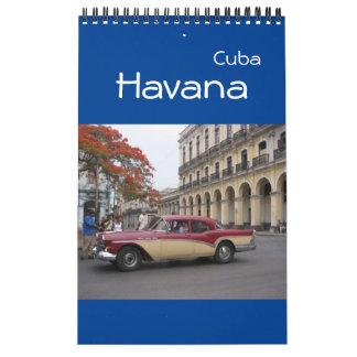 havana cuba calendar