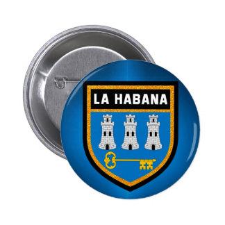 Havana Flag 2 Inch Round Button