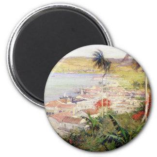Havana Harbor Magnet
