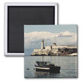 Havana lighthouse magnet