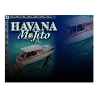 Havana Mojito Post Card