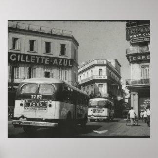 Havana Neptuno 1955 Poster