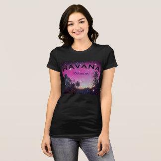 Havana Ooh Na Na Starry Sunset Palms Cuba T Shirt
