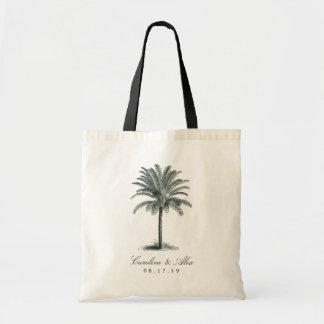 Havana Palm Wedding Favor Tote Bag
