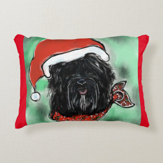 Havana Silk Dog Accent Pillow