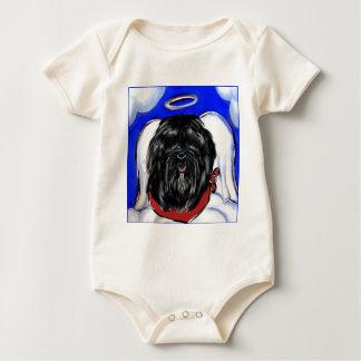 Havana Silk Dog Baby Bodysuit