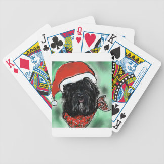 Havana Silk Dog Bicycle Playing Cards