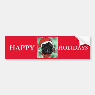 Havana Silk Dog Bumper Sticker
