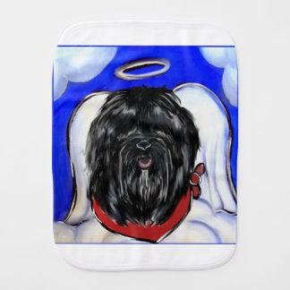 Havana Silk Dog Burp Cloth