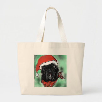 Havana Silk Dog Large Tote Bag