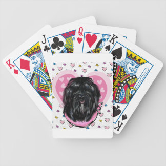 Havana Silk Dog Mothers Day Bicycle Playing Cards