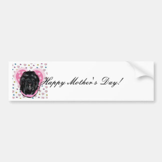 Havana Silk Dog Mothers Day Bumper Sticker