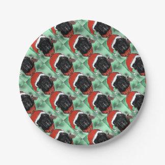 Havana Silk Dog Paper Plate
