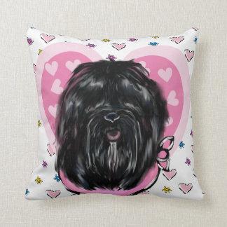 Havana Silk Dog Throw Pillow