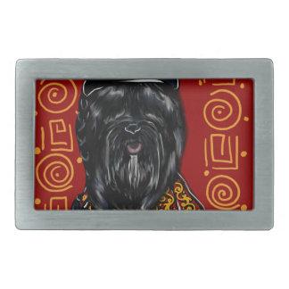 Havana Silk Dog Year of the Dog Belt Buckle