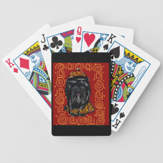 Havana Silk Dog Year of the Dog Bicycle Playing Cards