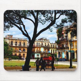 Havana Square Mouse Pad
