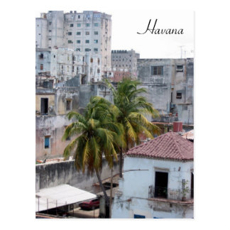 havana vieja post card