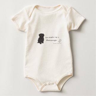 havanese baby bodysuit