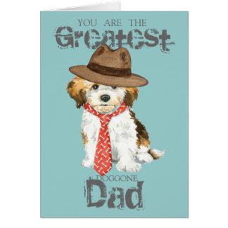 Havanese Dad Greeting Card