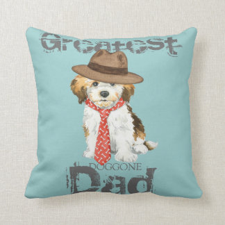 Havanese Dad Throw Pillow