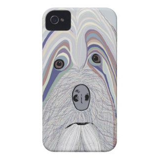 Havanese Denim Colors iPhone 4 Cover