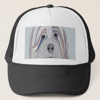 Havanese Denim Colors Trucker Hat