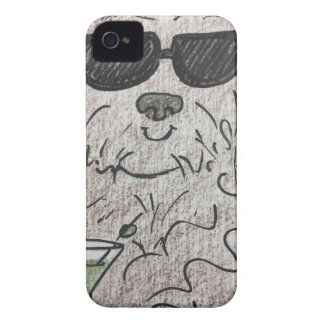Havanese dog martini iPhone 4 Case-Mate case