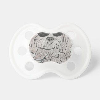 Havanese dog martini pacifier