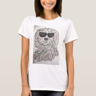 Havanese dog martini T-Shirt