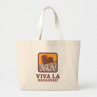 Havanese Jumbo Tote Bag