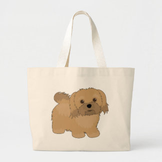 Havanese Large Tote Bag