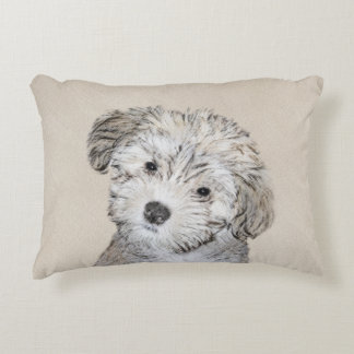 Havanese Puppy Decorative Pillow