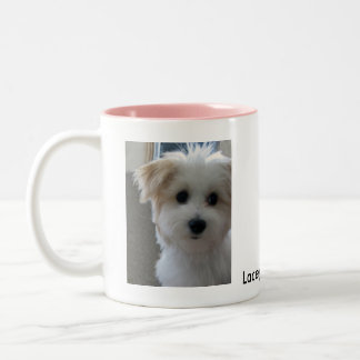 Havanese Puppy Two-Tone Coffee Mug