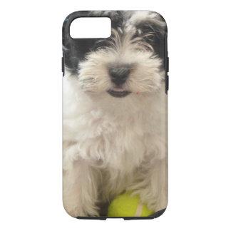 Havanese Rescue Puppy Black White iPhone 8/7 Case