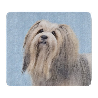 Havanese (Silver) Cutting Board