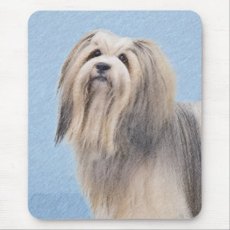 Havanese (Silver) Mouse Pad