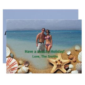 Have A Beachy Holiday! | Tropical Christmas Card