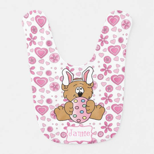 Have a Beary Easter Baby Bibs
