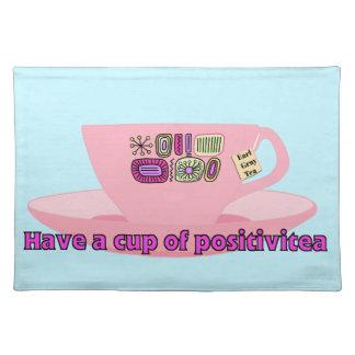 Have a Cup of Positivitea Placemat